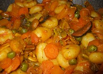 Zeleninové gnocchi