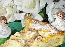 Jablkovo-mandlový koláč