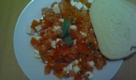 Rajčatový salát s Fetou