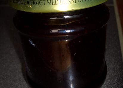 medová borůvková marmeláda