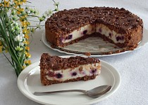 Čokodrobenkový koláč