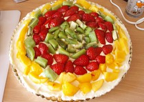 Božský jahodový koláč
