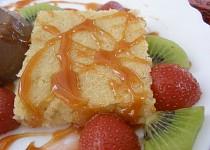Cuketovo-jablečno-pudinkové řezy