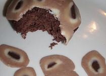 Blendované čokoládové košíčky
