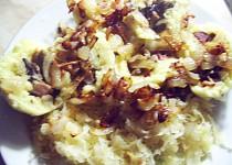 Lahodné bramborové knedlíky,plněné houbovou směsí