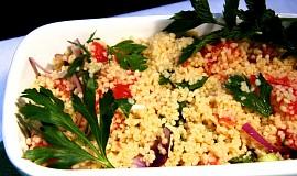 Kuskusový salát - tabbouleh