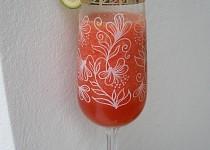 Ledový melounový drink
