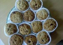 Medove muffiny s brusinkama
