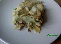 Lasagne s brokolici a hlivou
