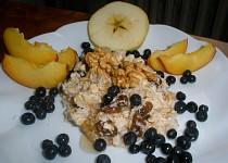 Zdravé müsli s ovocem