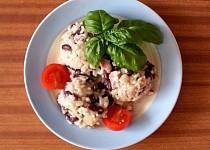 Rýže s fazolí po belizsku