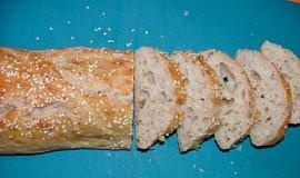 Bageta z domácí pekárny