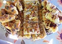 Slaný cibulový koláč