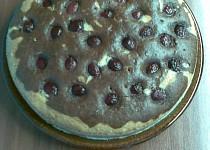 Šlehačkový koláč s třešněma