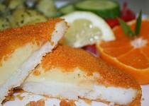 Smažené filé se sýrovým poklopem