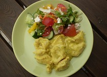 Dietní kuře na kari