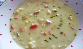 Anglická kari polévka