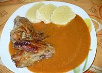 Kuře na zelenině s bramborovým knedlíkem