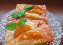 Ovocný (meruňkový) koláč ze směsi na Tarte au citron