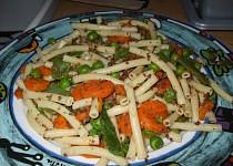 Mleté maso se zeleninou a těstovinami