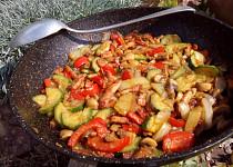 Zeleninová směs (nejen) na topinky
