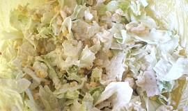 Salát s nivou a kukuřicí