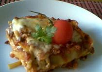 Lasagne se žampiony