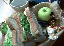 Svačinové sendviče