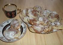 Listové skořicové koláčky