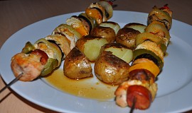 Špíz s americkými brambory