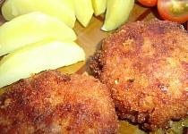 Karbenátky ze salámů a sojového masa