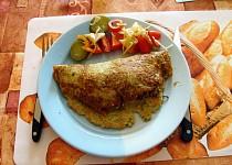 Pikantní směs z mletého masa v bramboráku