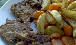 Placičky ze sójových nudliček