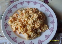 Rybí salát z pangase