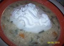 Polévka fazolkovo-koprová