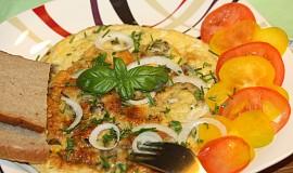 Vaječná omeleta s hlívou