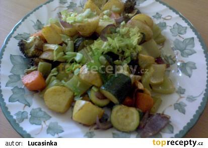pecena zelenina jako samostatne jidlo