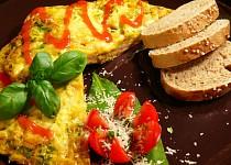 Večeřová rychlá omeleta