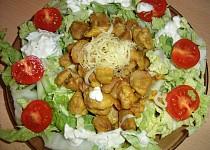 Sojové maso se zeleninovým salátem