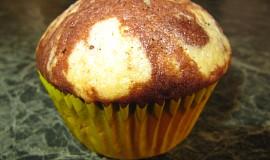 Dvojbarevné muffiny