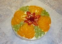 Ovocný dortík - zdobení