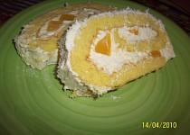 Kokosová roláda s mangem