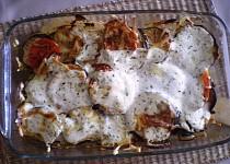 Pečené cukety s rajčaty