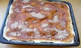 Pudingovo-smetanový koláč