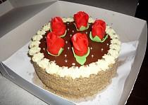 Čokoládový dort (kulatá forma)
