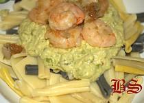 Brutzel-Svejk Pasta s krevetami se zeleninovým Relisch
