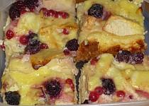 Jablečný koláč z tvarohového těsta