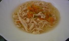 Mrkvovo-pórková polévka