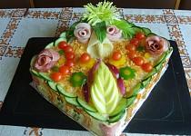 Slaný dort - pro Pepíka