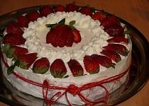 Jahodový dort ze Švédska